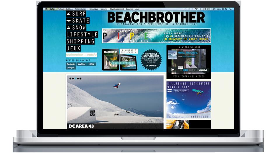 site internet wordpress biarritz